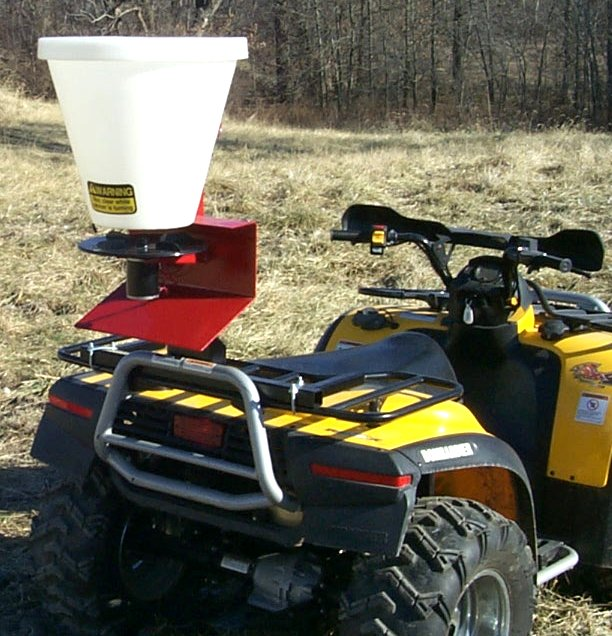 ATV 1 Bushel Poly Hopper Seeder