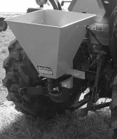 1.5 Bushel Steel Hopper Seeder